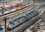 Amtrak MOW engines